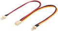 MICROCONNECT Cable Molex 3 pin female 0.22m