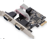 MICROCONNECT 2 Port Serial PCIe card