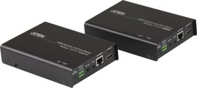 ATEN VanCryst VE814R HDMI Receiver with Dual Display - Video/ lyd/ infrarød/ seriell-utvider - HDBaseT - opp til 100 m (VE814R-AT-G)