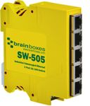 BRAINBOXES Ethernet Switch 5 ports