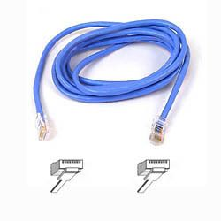 BELKIN CAT 5 PATCH CABLE ASSEMBLED BLUE 1M NS (A3L791B01M-BLU)