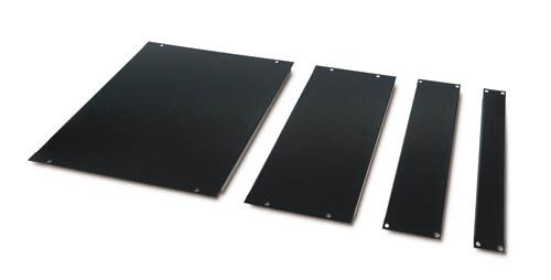 APC BLANKING PANEL KIT 8U/ 4U/ 2U/ 1U PANEL - BLACK (AR8101BLK)