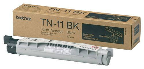 BROTHER toner til HL-4000CN,  sort - 8.500 sider  (TN11BK)