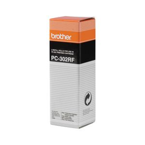 BROTHER 2 REFILL ROLLS FOR USE IN PC301 PPF-750 770 870MC MFC-970MC         (PC302RF             )