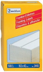 AVERY Franking Labels Double (3440)