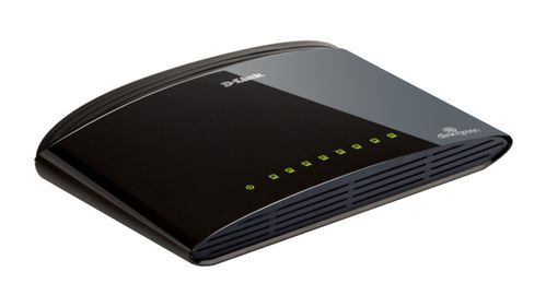 D-LINK 8-ports Small office/ Home office miniswitch (DES-1008D)
