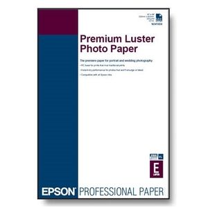 EPSON A4 Premium Luster Photo Paper 250 sheets A4 PREMIUM LUSTER PHOTO PAPER (C13S041784)