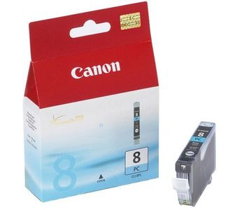CANON CLI-8PC ink cartridge photo cyan standard capacity 13ml 5.080 pages 1-pack (0624B001)