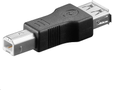 CABLES UNLIMITED ADAPTER USB TYP A HONA TILL TYP B HANE