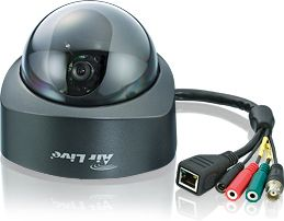 AIRLIVE POE IP-CAM, Fixed Dome , 1/3 (POE-200CAM)
