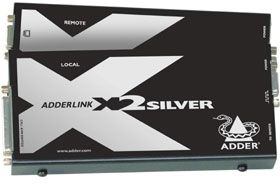 ADDER TECH AdderLink X2-SILVER Up to 300m (X2-SILVER/P-EURO)