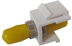 MICROCONNECT Snap-in Fiber Keystone with