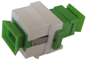 MICROCONNECT Snap-in Fiber Keystone with (FIBSCAPCKEY)