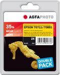 AGFAPHOTO Ink Black Dye 2-pack (APET071_T089BDUOD)