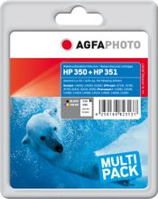 AGFAPHOTO Ink Black + Color (APHP350_351SET)