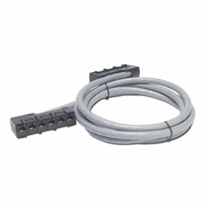 APC DD CABLE CAT5E UTP CMR GREY 6XRJ45JACK/ 6XRJ45JACK 11FT 3.3M NS (DDCC5E-011)