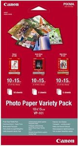 CANON Photo Paper Variety Pack 4x6 VP-10 (0775B078)