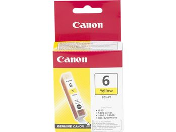 CANON BCI-6Y REFILL YELLOW 4708A002 S8XX/9XX I950 NS (4708A002)