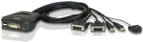 ATEN 2 Port DVI Cable KVM (CS22D-AT)