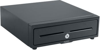AURES Cashdrawer,  24V, Black, 8/8 (ART-02970)