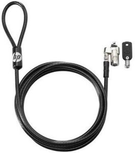 HP KEYED CABLE LOCK 10MM . LOCK (T1A62AA)