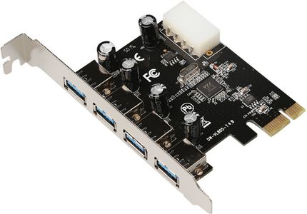 MICROCONNECT USB 3.0 4 port PCIe card (MC-USB3.0-T4B)