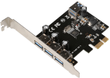 MICROCONNECT 4 port USB 3.0 PCIe card