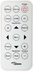 OPTOMA Remote Control (OP.45.8UP01G001)