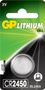 GP LITHIUM BUTTON CELL CR2450