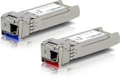 Ubiquiti U Fiber Single-Mode - SFP (mini-GBIC) transceivermodul - 10 GigE - 10GBASE-BiDi (en pakke 2)