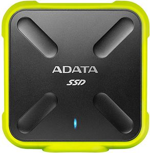A-DATA 512GB SD700 SSD, Yellow (ASD700-512GU3-CYL)