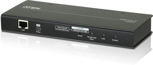 ATEN Single Port IP KVMOver IP Control unit (KVM + Serial), with Virtual Media Support (CN8000A-AT-G)
