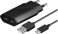 MICROCONNECT USB Type C Charger Set Black MICRO