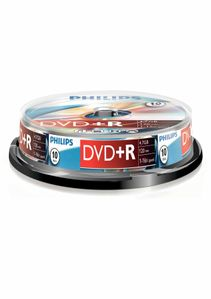 PHILIPS 10-P, DVD+R 4,7 GB/120 min 16x (DR4S6B10F/00)
