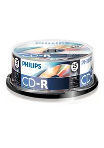 PHILIPS CDR 80 MIN 52X SP (25) (CR7D5NB25/00)