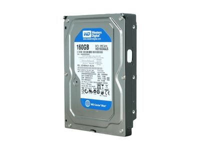 WESTERN DIGITAL HD Caviar SE/160GB SATA II 7200rpm 8MB (WD1600AAJS)