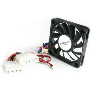 STARTECH 50x10mm Replacement Ball Bearing Computer Case Fan TX3/LP4 Connector	 (FAN5X1TX3           )