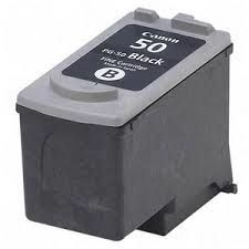 CANON PG-50 ink cartridge black high capacity 22ml 720 pages 1-pack (0616B001)
