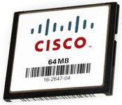 CISCO Catalyst 4500 Sup II-Plus/ III/ IV Compact Flash, 64MB Spare (MEM-C4K-FLD64M=)