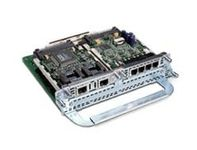 CISCO TWO-SLOT IP COMM VOICE/FAX NETWORK MODULE NS (NM-HD-2V= $DEL)