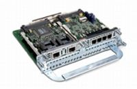 CISCO TWO-SLOT IP COMM ENH. VOICE/FAX NETWORK MODULE NS (NM-HD-2VE= $DEL)
