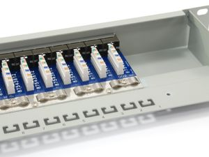 EQUIP Patchpanel 24Port RJ45, (326324)