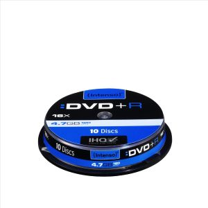 INTENSO DVD+R 16x SC 4,7GB 10St (4111652)