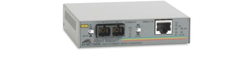 Allied Telesis AT-MC102XL-20 100TX (RJ-45) to 100FX (SC) Ethernet MC (ATMC102XL20)