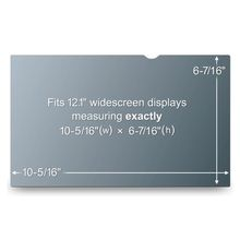"Notebook Privacy 12.1"" Filter for Wide Passer til 12.1"" 16:9 (PF12.1W)"