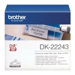 BROTHER Label tape/ white 102mmx30x48m f QL (DK22243)