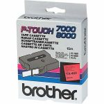 BROTHER Tape/24mm black on red f P-Touch (TX451)