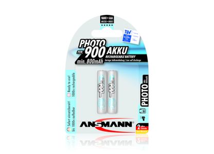 ANSMANN Energy Micro Photo - Battery 2 x AAA NiMH  (5030512)