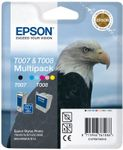 EPSON T007+T008 TWIN COMBIN. WITH AM TAG (C13T00740330)
