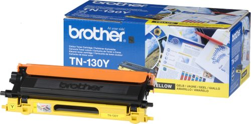 BROTHER Yellow Toner 1500 pages (TN-130Y)